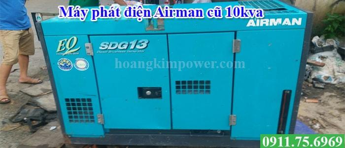 Máy phát điện Airman cũ 10kva