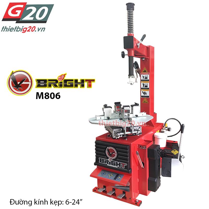 Máy ra vào lốp xe máy Bright M806B