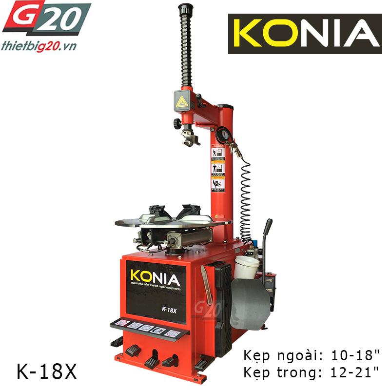 Máy tháo vỏ xe Konia K-18X
