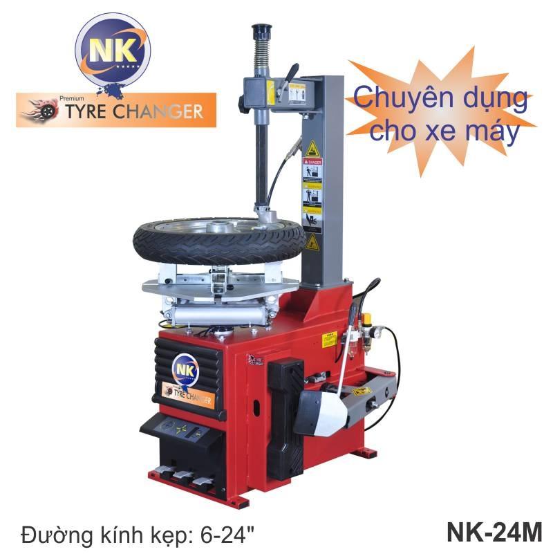 Máy tháo vỏ xe máy chuyên dụng NK - 24M