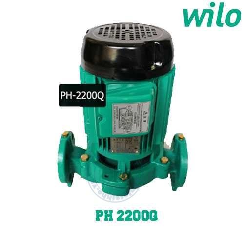 Bơm tuần hoàn nước nóng WiLo PH-2200Q (Điện áp : 380V)