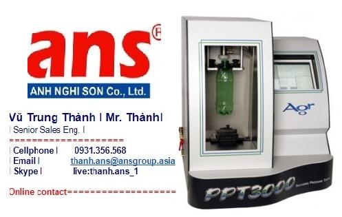 Agr  topwave Vietnam Bộ Mở rộng, kiểm tra áp suất & dự đoán thời hạn sử dụng hộp nhựa PPT3000