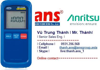 Anritsu Vietnam Nhiệt kế dòng HD-1000
