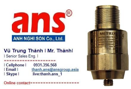 Metrix Vietnam Gia tốc kế SA6200A
