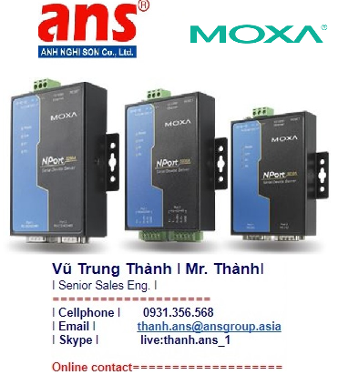 Moxa Vietnam Dòng NPort 5200A