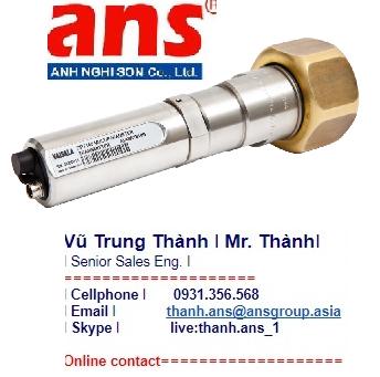 Vaisala Vietnam Đầu dò sương và áp suất cho máy nén DPT146