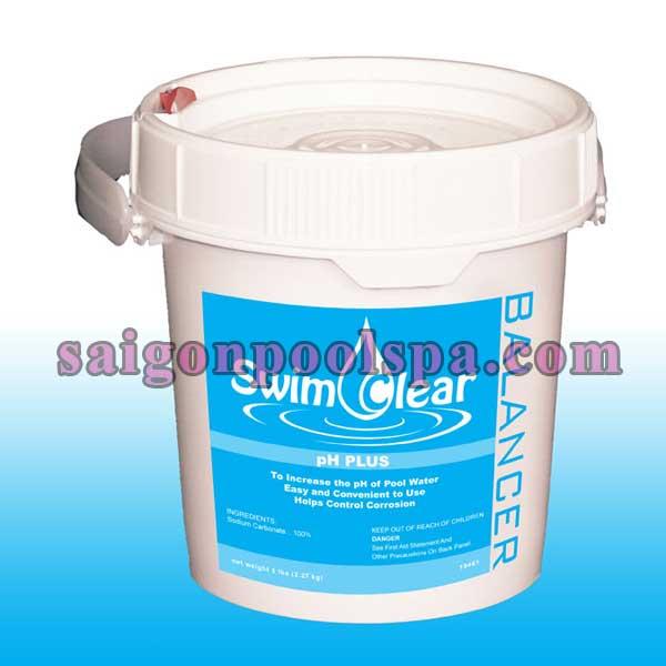 Hóa chất soda, chlorine xử lý nước hồ bơi, bể bơi