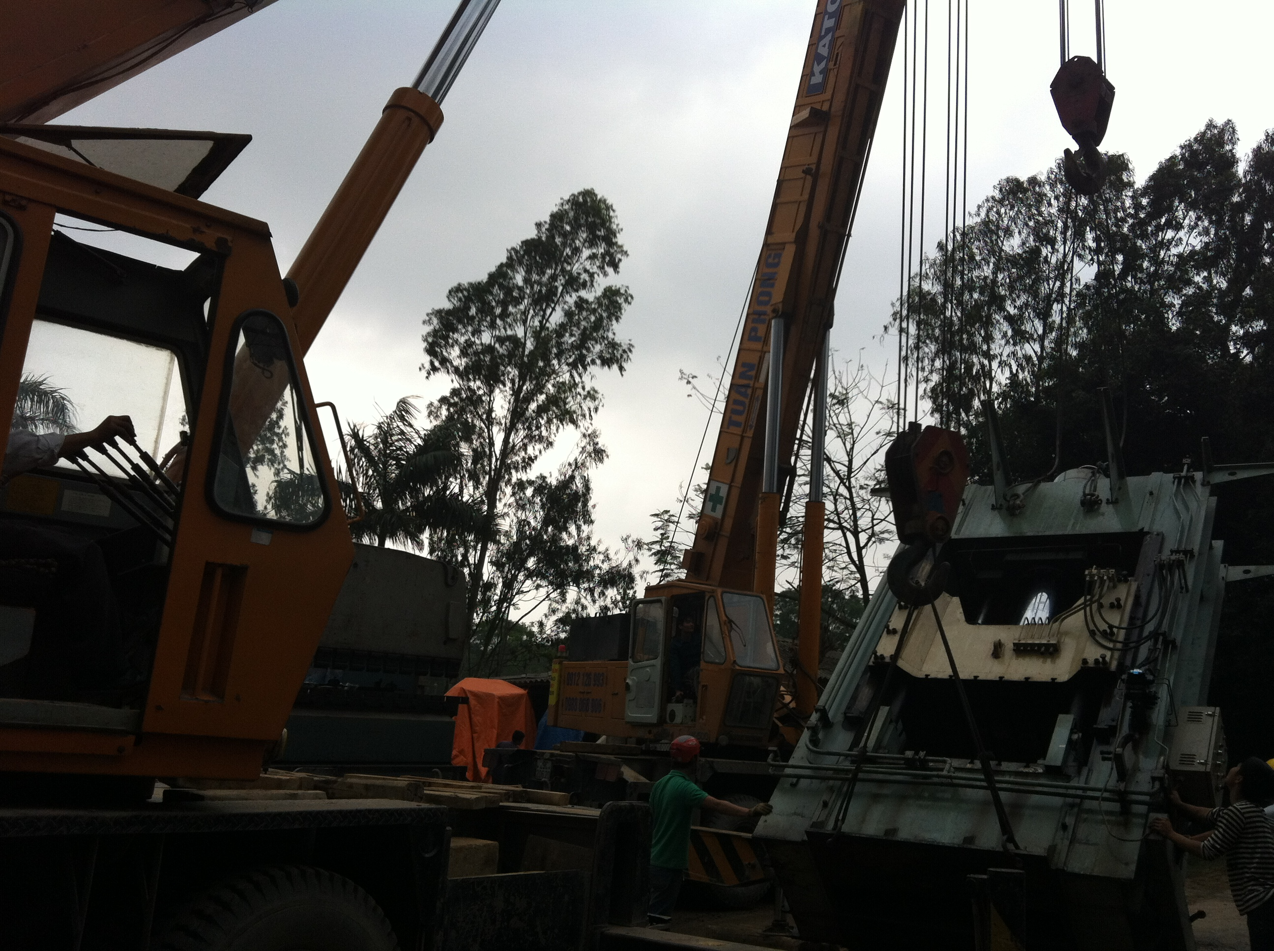 Cẩu KaTo 25 tấn, Cẩu KaTo 40 tấn - Cẩu KaTo  50 tấn 0912 126 993