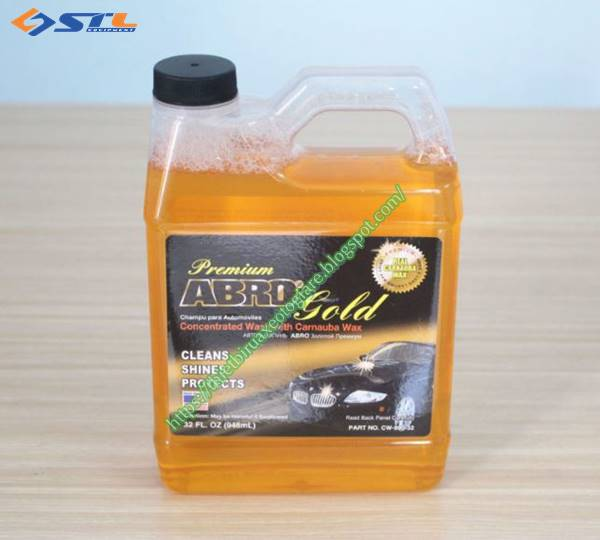 Dung dịch nước rửa xe oto Abro