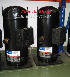 cung cấp , lắp đặt máy nén lạnh ZB45KQ-TFD-522 (6HP) , nhận thay Block Copeland tận nơi - 0911 747 994