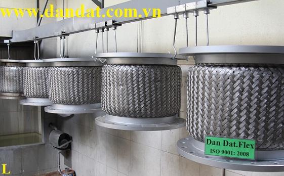 (Ống 3LL inox 304) Khớp nối mềm, khớp chống rung inox