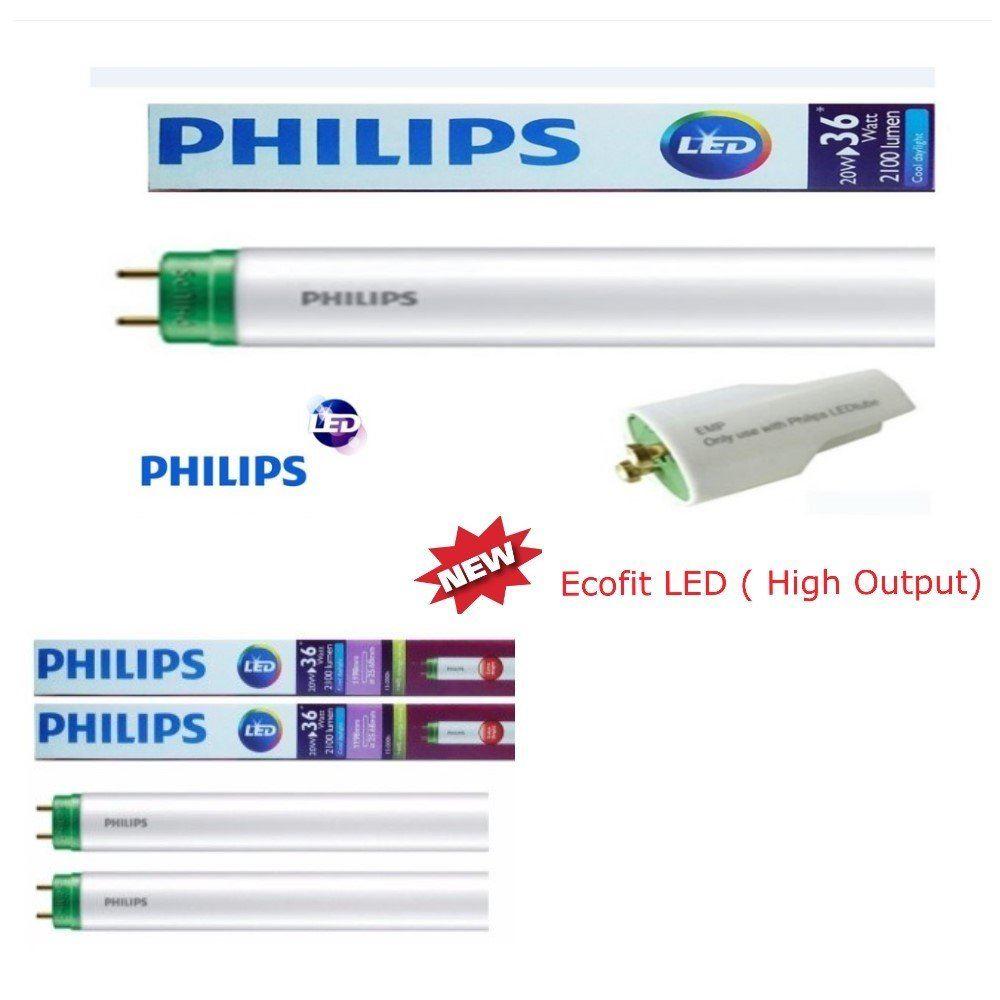 Đèn tuýp EcoFit Philips loại 0,6m có tắc te đi kèm