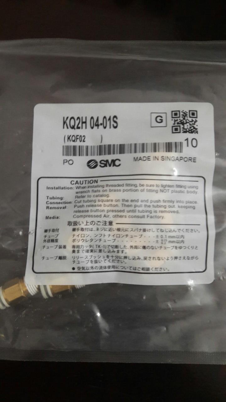Đầu nối SMC KQ2H-04-1S