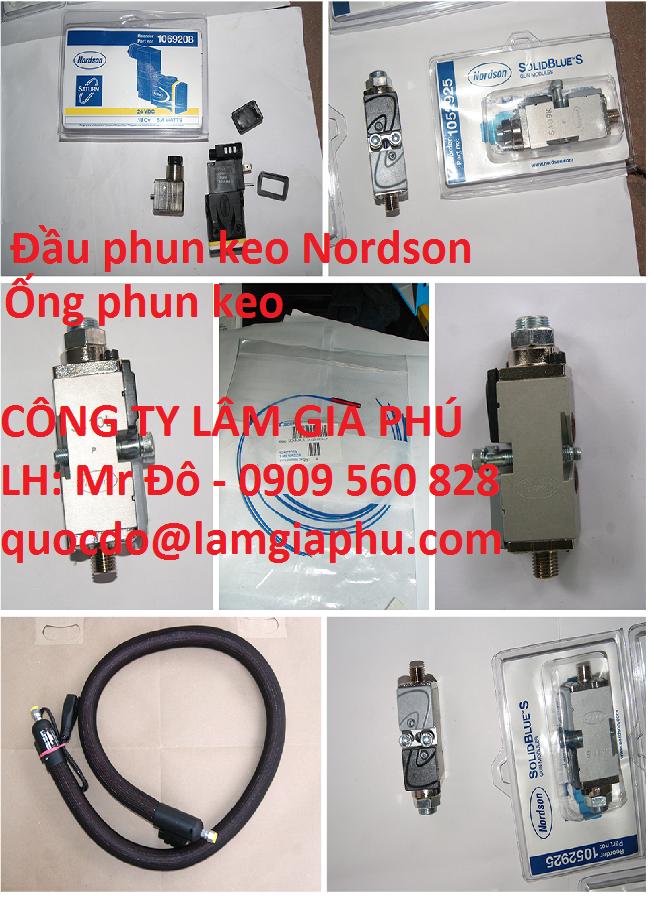 Đại lý máy phun keo Nordson tại Việt Nam