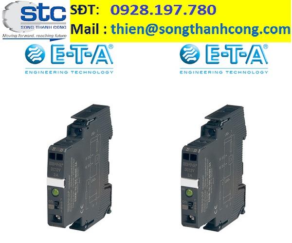 ESX10-TB-101-DC24V-12A -  Bộ ngắt mạch điện - Circuit Breaker - E-T-A - Song Thành Công Việt Nam