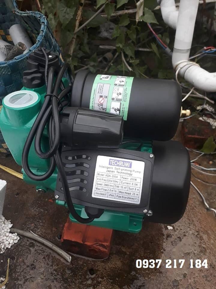 Máy bơm tăng áp Techrumi AQN-300A 300W (0937 217 184)
