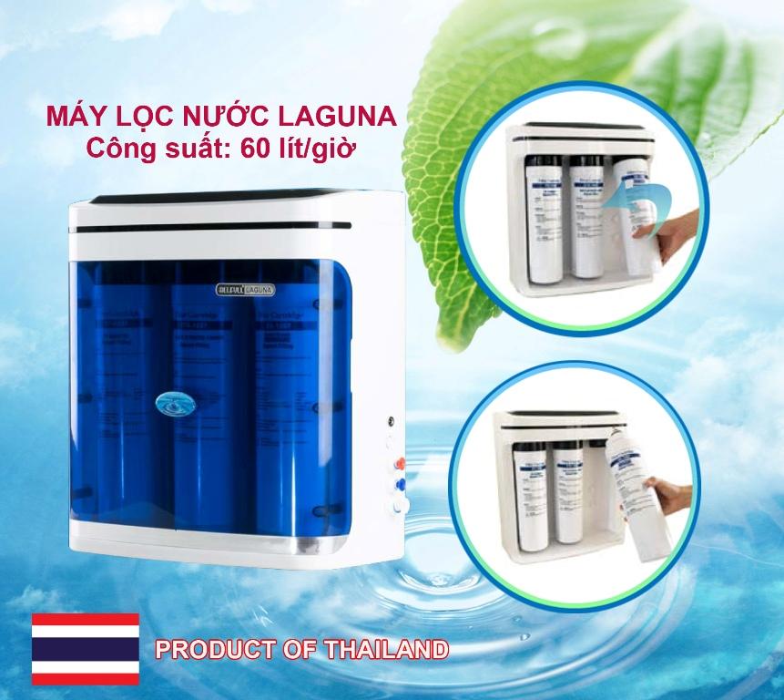 Máy lọc nước Laguna 60 lít/giờ không bình chứa (công nghệ RO & UF)