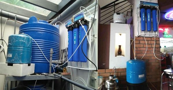Máy lọc nước RO công suất 60 lít/giờ Model A300