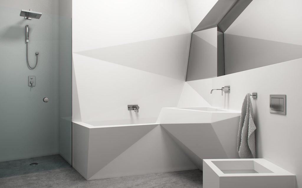 Thiết kế phòng tắm 6m2, 10m2