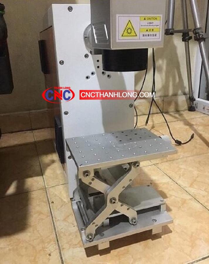 Máy laser khắc kim loại, máy laser fiber mini