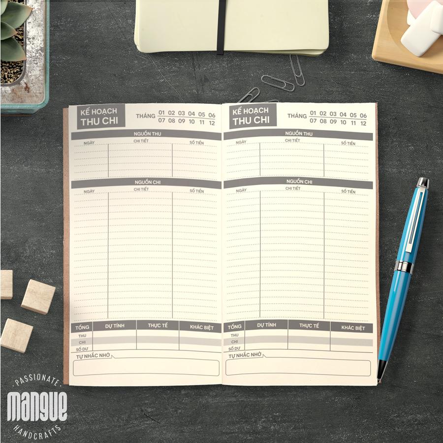 Tổng hợp các mẫu sổ Planner thịnh hành nhất hiện nay
