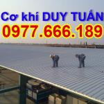 Nhận lợp mái tôn, mái nhựa tại Hà Nội