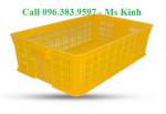 bán rổ nhựa các loại, ro nhua cong nghiep, khay nhựa giá rẻ