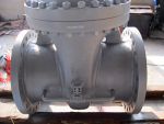 ASTM A216 Cast Steel Gate Valve With Pass Valve 150LB, RF