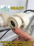 Dịch vụ sục rửa cáu căn rong rêu đường ống nước sinh hoạt