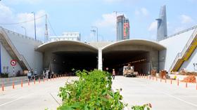 Hầm Thủ Thiêm trước ngày thông xe