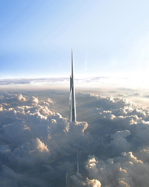 Hoàng tử Ảrập lại xây tháp cao nhất thế giới