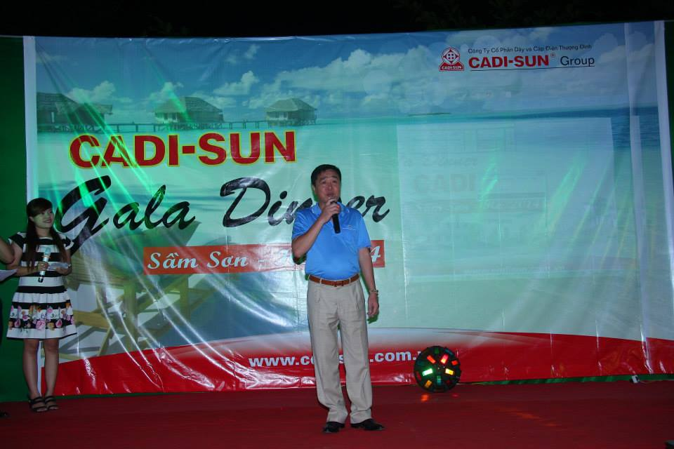 Mùa hè sôi động của CADI-SUN trên biển Sầm Sơn