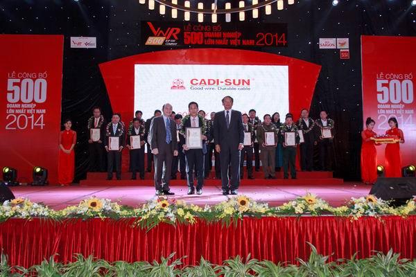 Top 500 doanh nghiệp tư nhân lớn nhất Việt Nam năm 2014