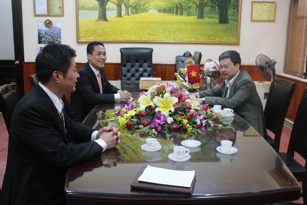 CADI-SUN: Thăm và làm việc tại PC Sơn La