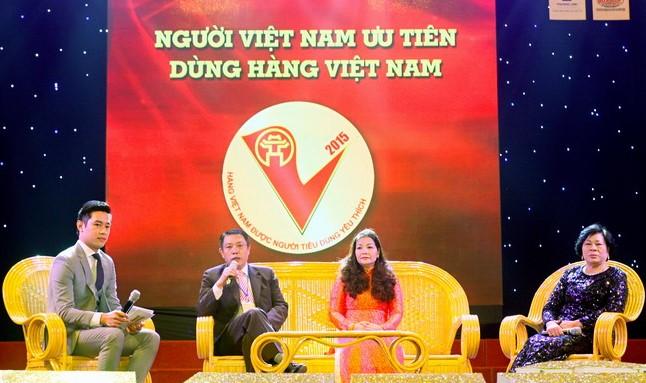"""CADI-SUN – Top 10 thương hiệu """"Hàng Việt Nam được người tiêu dùng yêu thích"""" năm 2015"""