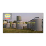 Bồn chứa nước thải composite
