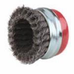 Chổi mài dạng chén sợi xoắn/ Cup brush with twist-knotted wire