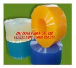 MÀNG NHỰA VÀNG CHẮN CÔN TRÙNG, MÀNG CHỊU NHIỆT KHO LẠNH, rèm nhựa PVC