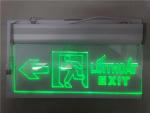 Đèn EXIT trong suốt HW-128LED