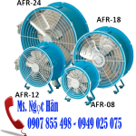 Quạt Công nghiệp Động Cơ Khí Nén AFR-08 EX chống cháy nổ trong ngành công nghiệp