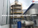 Tháp xử lý khía thải composite