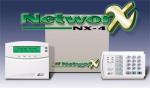 Trung tâm báo trộm-báo cháy NETWORX NX-4