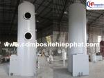 Tháp xử lý khí bằng composite