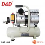 Máy nén khí mini không dầu - giảm âm ROC1006J