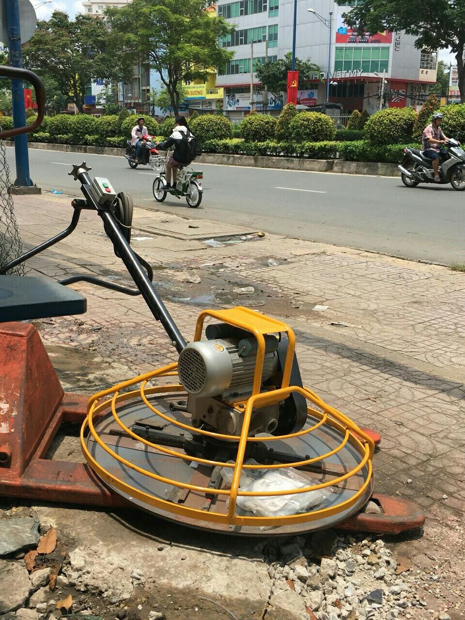 Máy xoa nền bê tông chạy điện 3KW (220V)