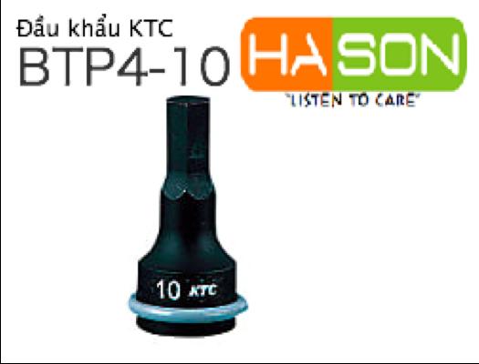 インパクトレンチ用ヘキサゴンレンチ(差込角9.5mm・12.7mm), đầu siết mở bu lông lục giá 12.7mm, BTP4-10P
