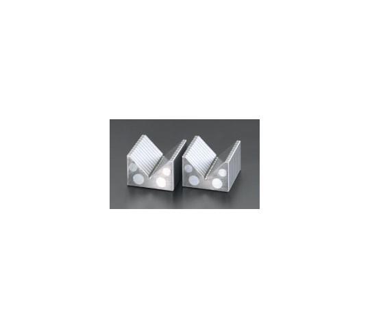 [取扱停止]V型マグネットチャックブロック(2個) 65×60×40mm, Block nam châm ESCO EA781BJ-1, EA781BJ-13 v-shaped magnet block