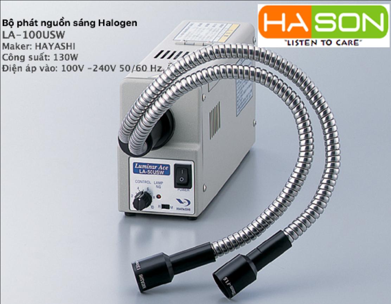 Bộ phát nguồn sáng Halogen LA-1000USW HAYASHI, ルミナーエース LA-100USW, Halogen Light Source Device LA-1000USW