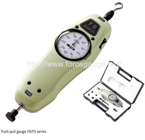 IMADA Đồng hồ đo lực kéo – căng FB series, máy đo lực kéo đứt vật liệu