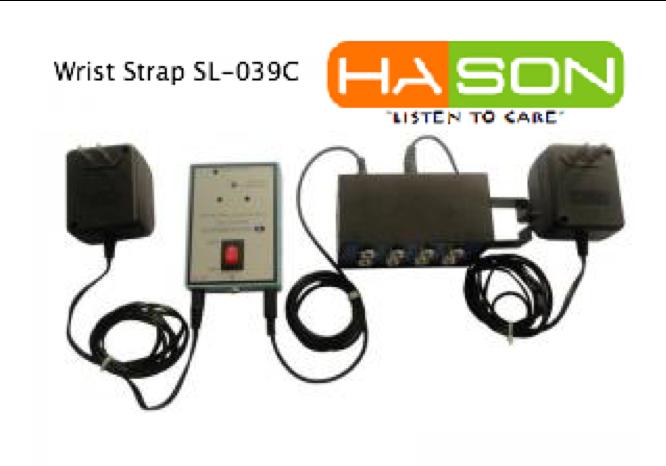 Máy đo điện trở bề mặt SL-039C, Máy đo độ tĩnh điện Wrist strap SL-039C, Máy đo tĩnh điện SL-039C